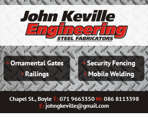 John Keville Engineering - Steel Fabricators - Boyle