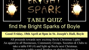 Bright Spark table quiz