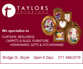 Taylors Interiors - Furniture Shop Boyle, Roscommon