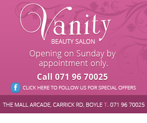 Vanity Beauty Salon Boyle
