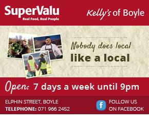 Kellys Super Valu Boyle