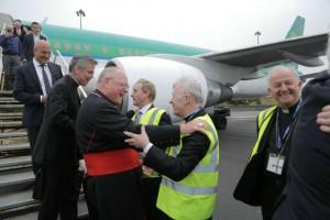 Now York Pilgrimage Flight Landing In Knock