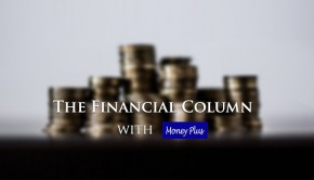 Financial Column with Money Plus