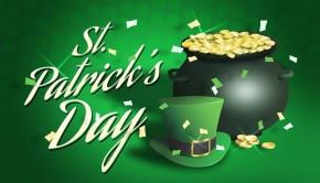 St Patrick's Day Pot Of Gold Saint Patricks Day