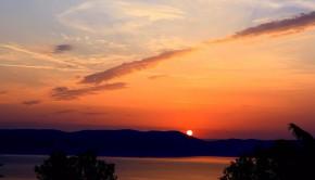 Dawn Horizon Croatia Tranquility Sun Island