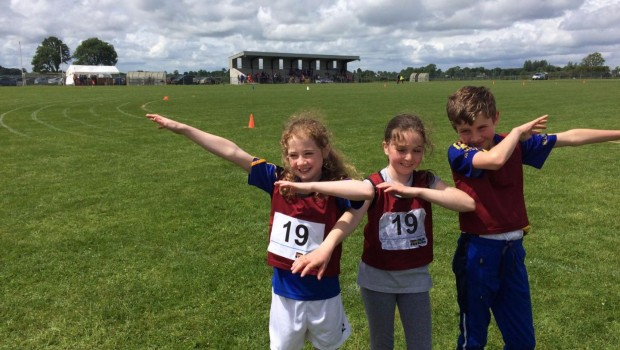 Athletes representing Boyle in Roscommon County Community Games Final 3