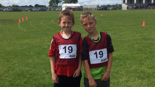 Athletes representing Boyle in Roscommon County Community Games Final