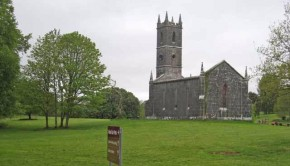 church in Lough Key