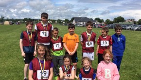 athletes representing Boyle in Roscommon County Community Games Finals