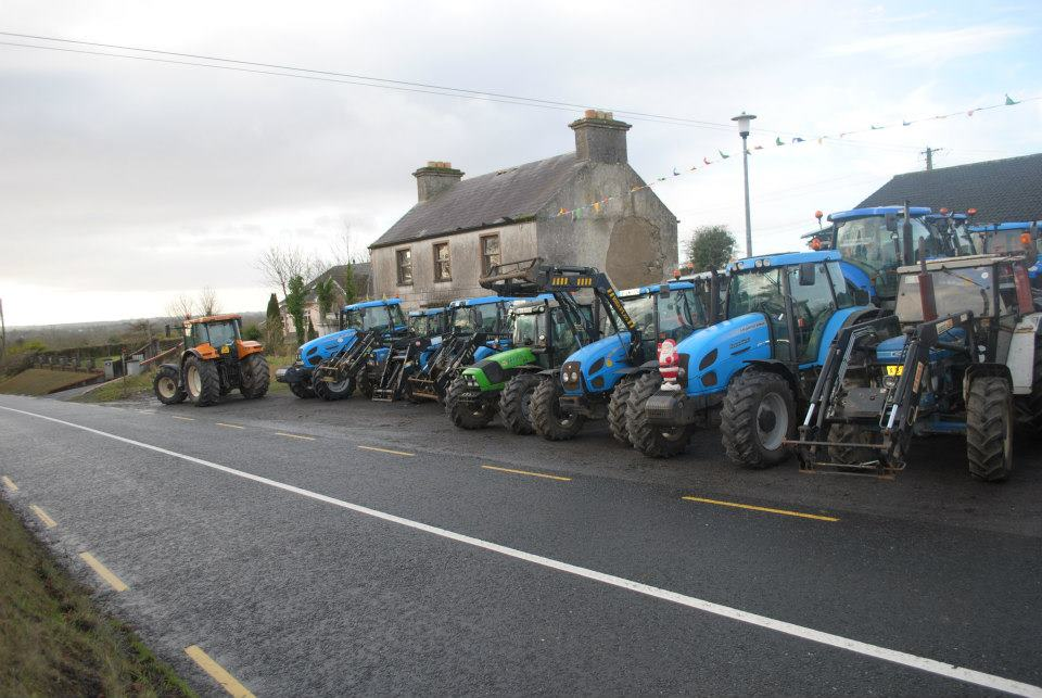 Photo of New Year's day Tractor Drive