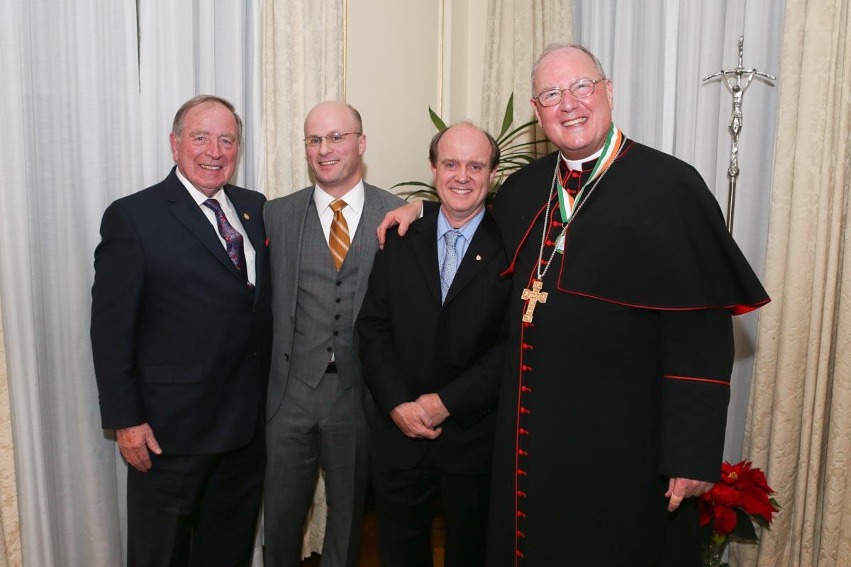 Photo of Boyle man honoured in New York