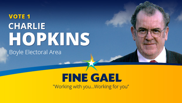 Photo of Charlie Hopkins – Fine Gael