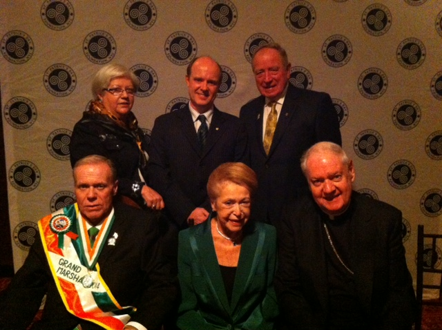 Photo of Boyle represented at NYC dinner