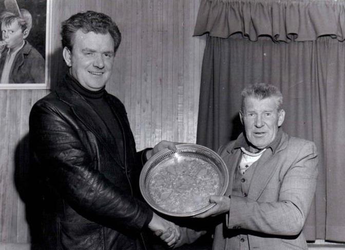 Photo of Paddy Conlon retirement