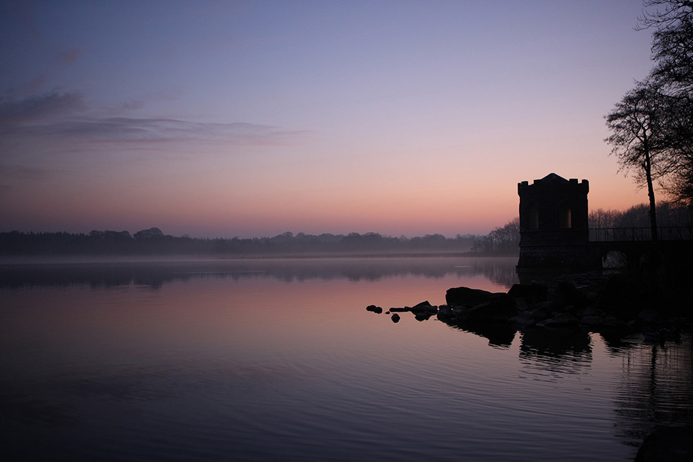 Photo of Lough Key at sunrise