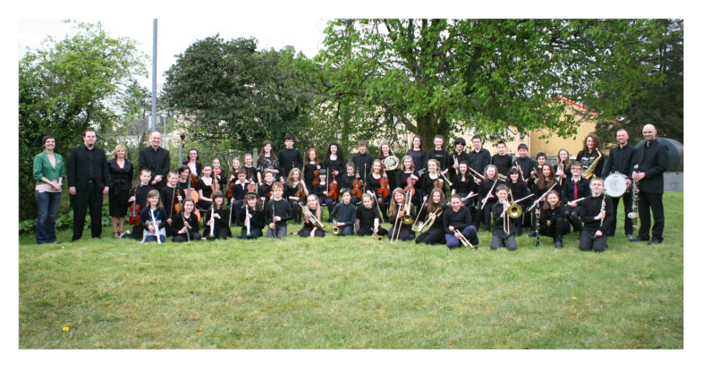 Photo of Youth Orchestra in Boyle