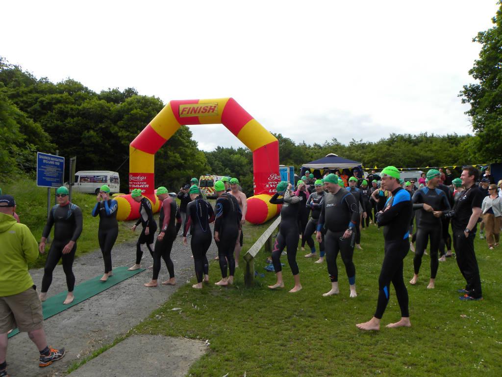 Photo of Open water swim held in Lough Key