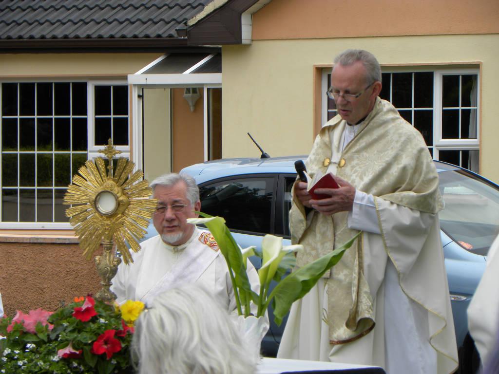 Photo of Corpus Christi procession held