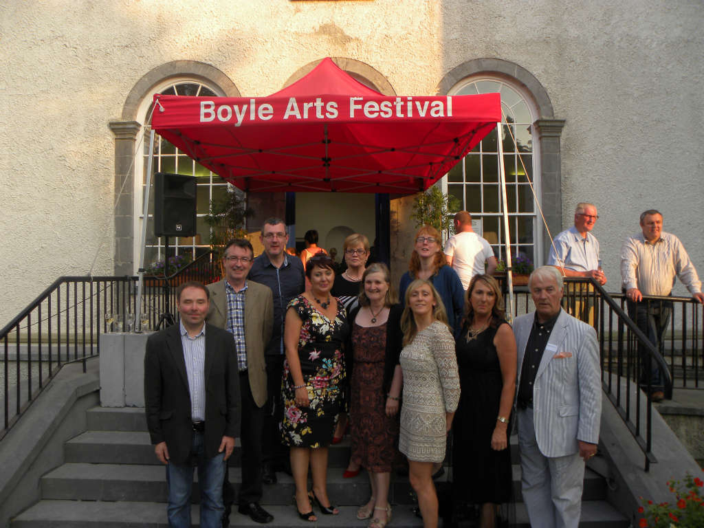 Photo of Boyle Art Collection on show in Dublin
