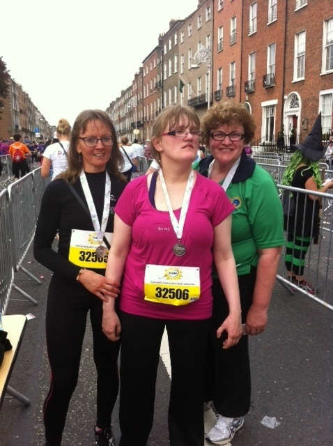 Photo of Sinead completes mini marathon