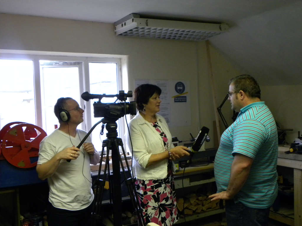 Photo of Mens Shed & Model Railway on TV