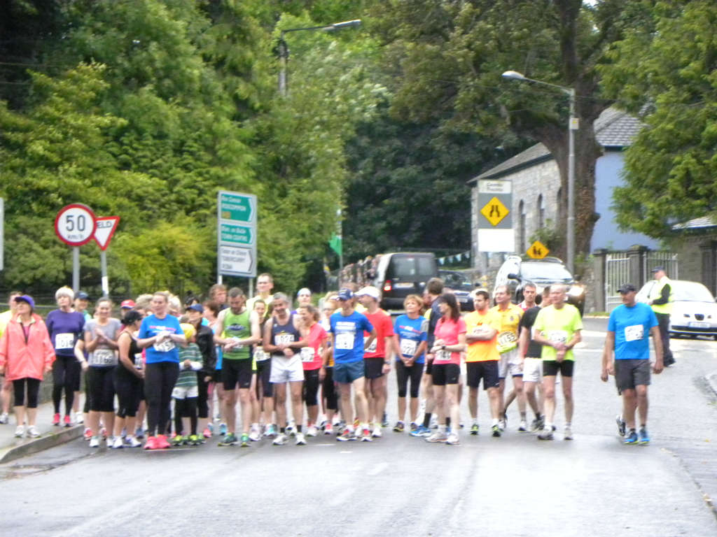 Photo of 5k road race held in Boyle
