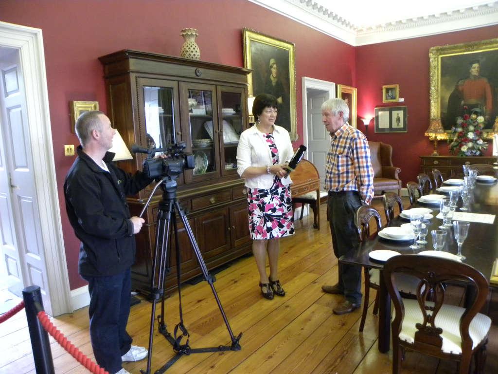 Photo of Irish TV.ie filming in Boyle