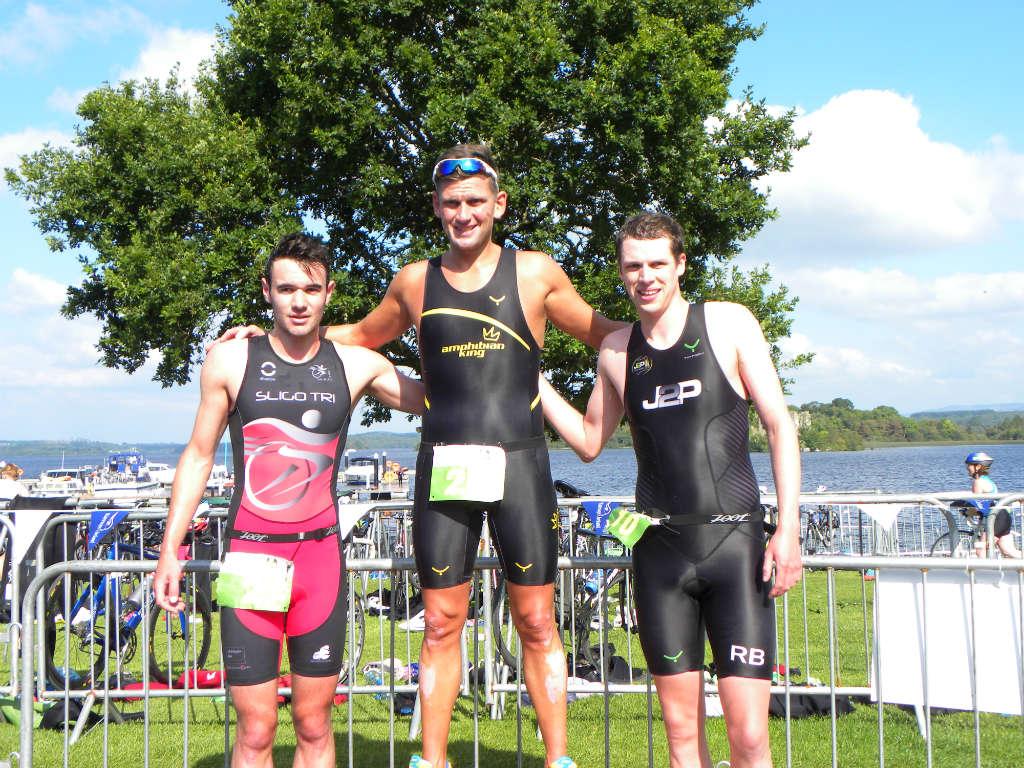 Photo of Lough Key Triathlon success