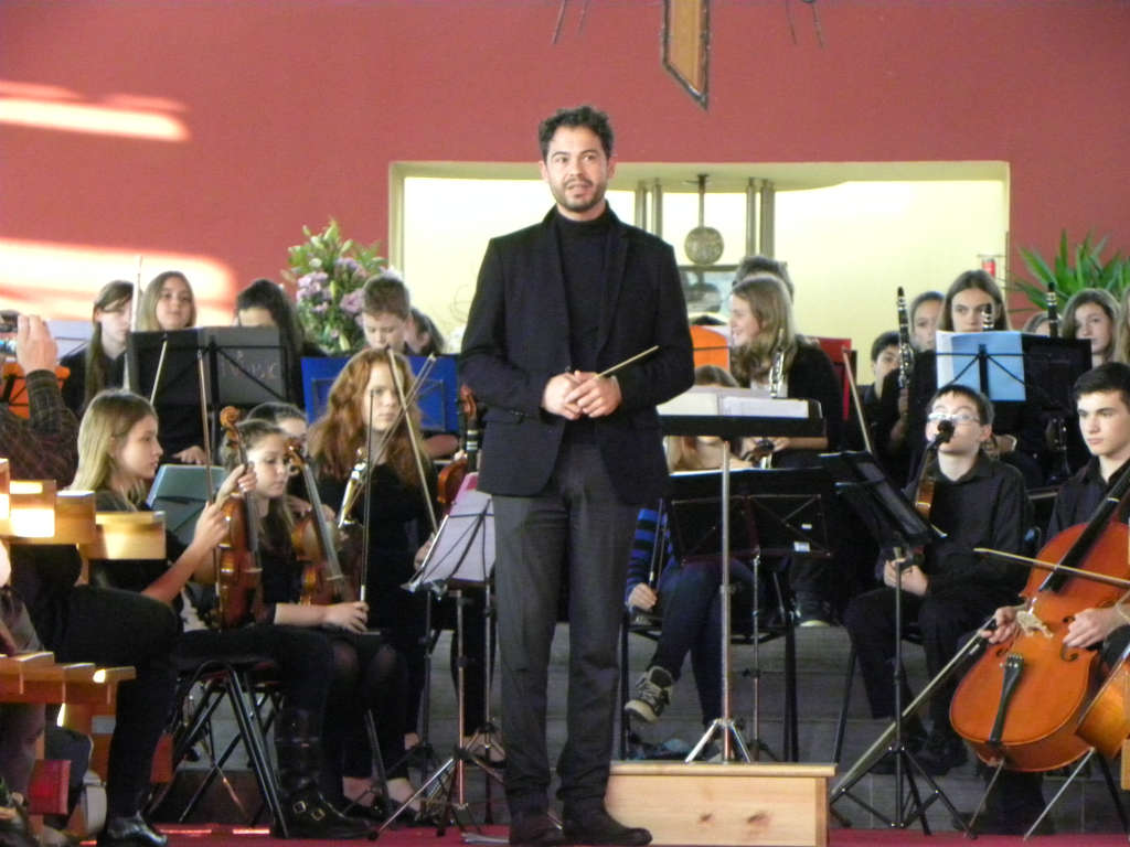 Photo of Swiss Orchestra perform in Boyle