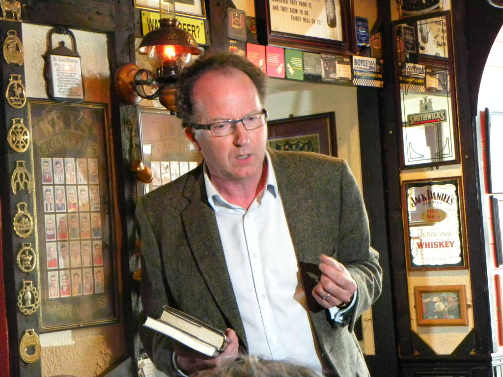 Photo of Book signing held in Creightons