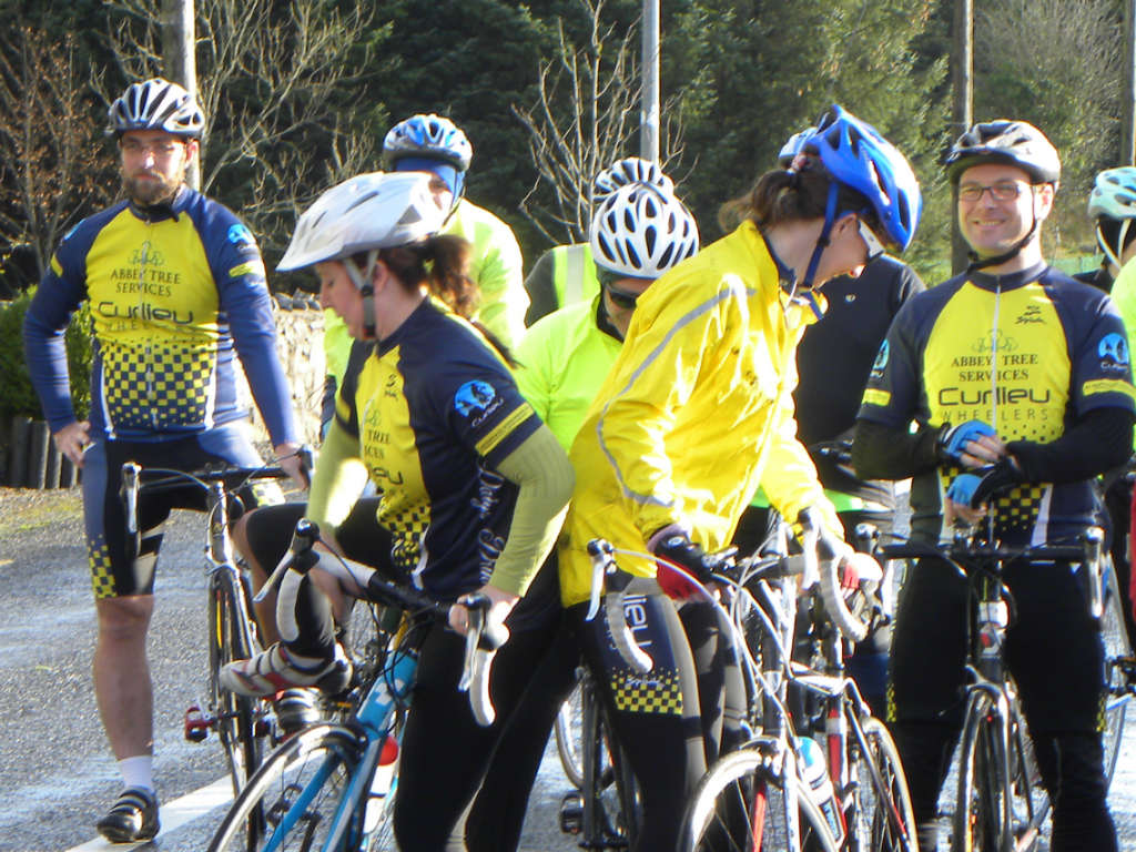 Photo of Curlieu Wheelers cycle on Tuesday