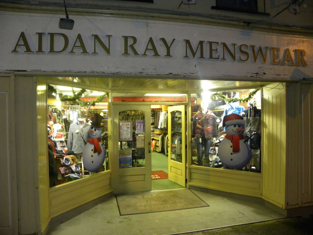 Photo of Christmas at Aidan Ray Menswear