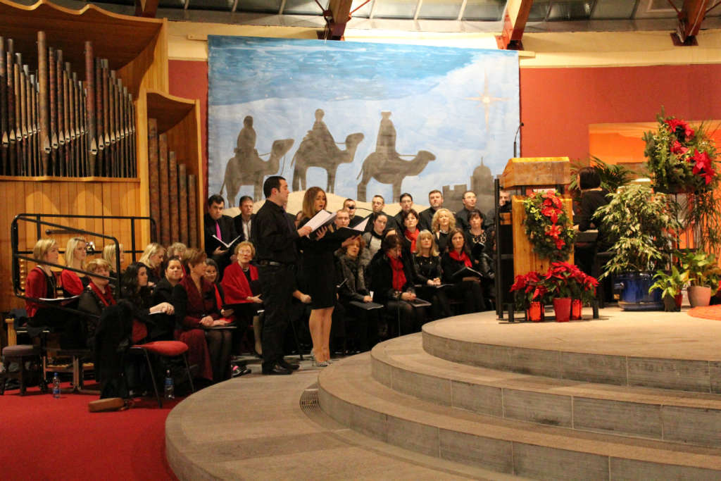 Photo of Musical Society perform in St. Joseph's