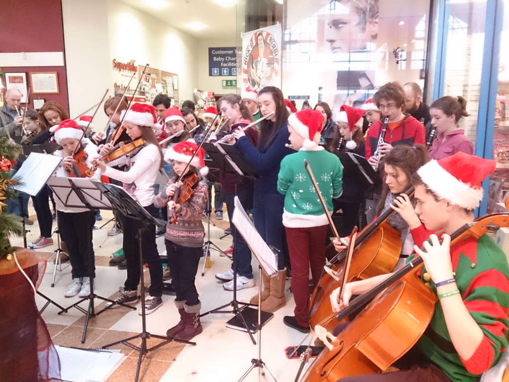 Photo of Youth Orchestra in Super Valu