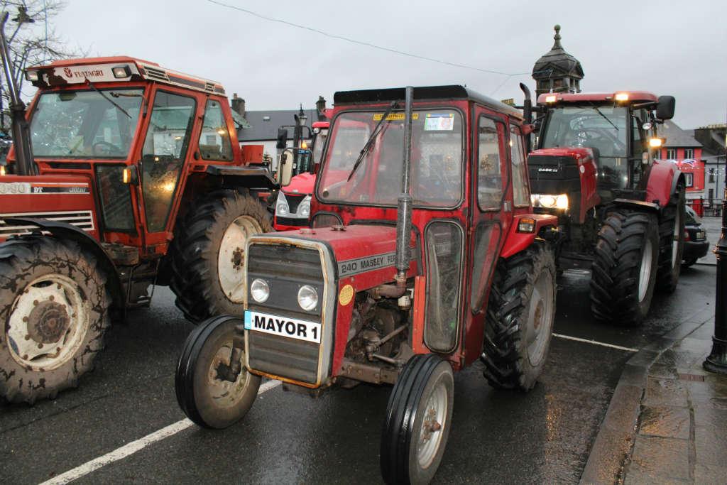Photo of New Years Day Tractor Run held