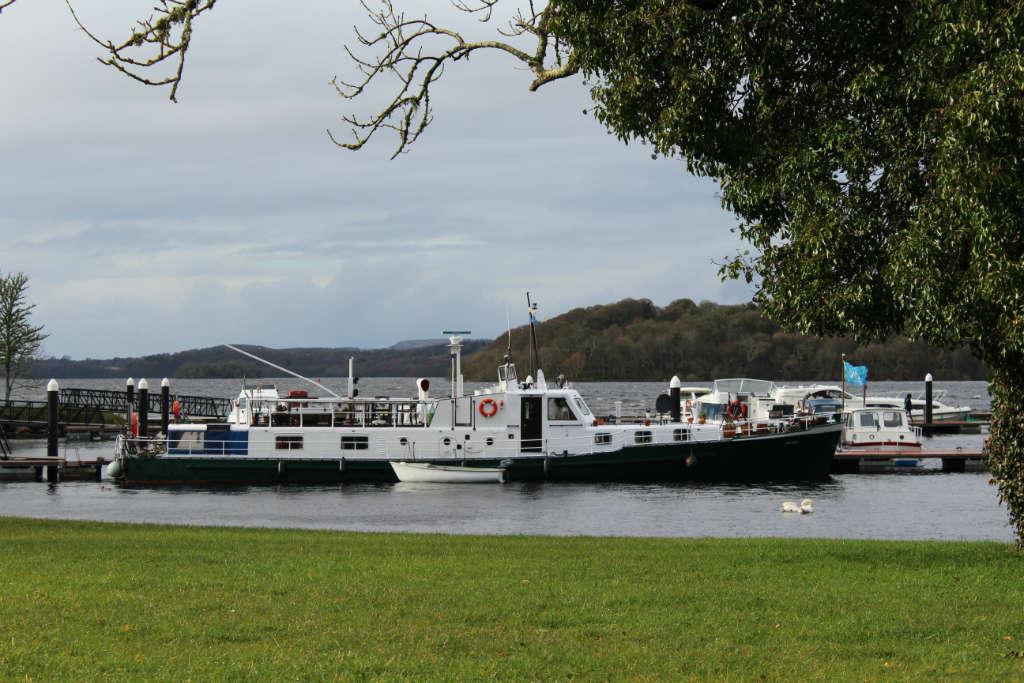 Photo of Ex Cold War Boat visits Lough Key