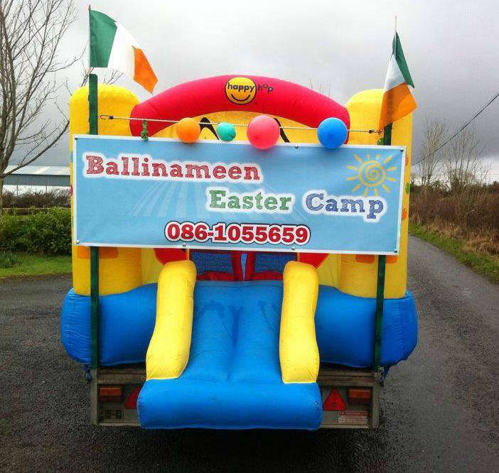 Photo of Easter camp in Ballinameen