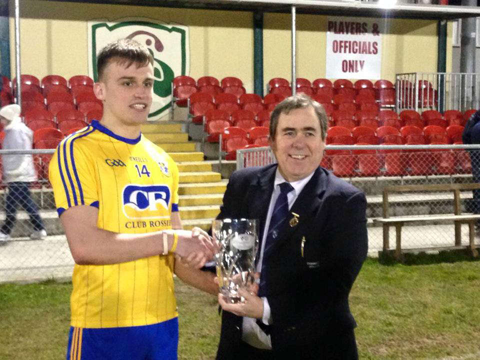 Photo of Enda named U21 Man of the Match