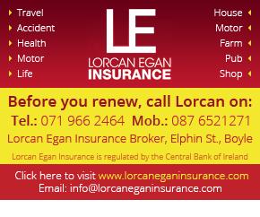 Lorcan Egan Insurance, Boyle