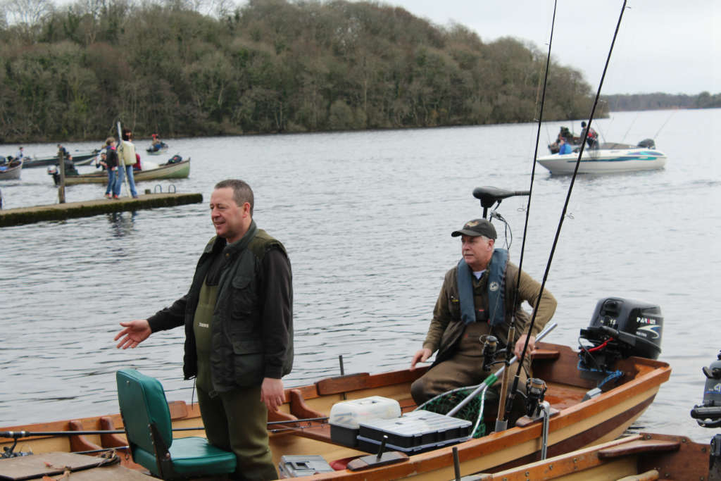 Photo of Paddy Kelly fishing competition