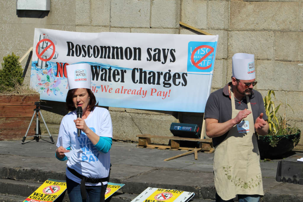 Photo of Boyle Right2Water meeting tonight