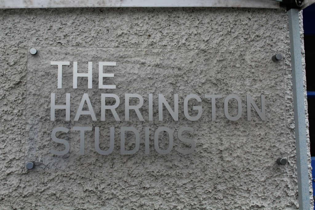 Photo of Susan's last week in Harrington Studio