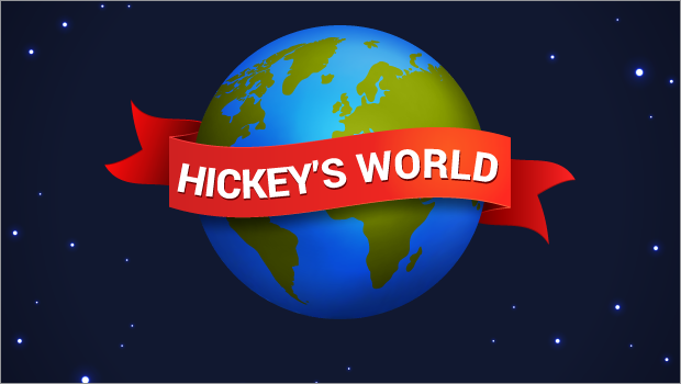 Hickey's World Blog