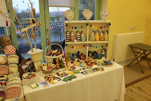 Photo of Sale in Cleen Hall on Saturday