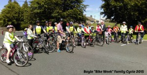 Boyle Bike Week Family Cycle 2015