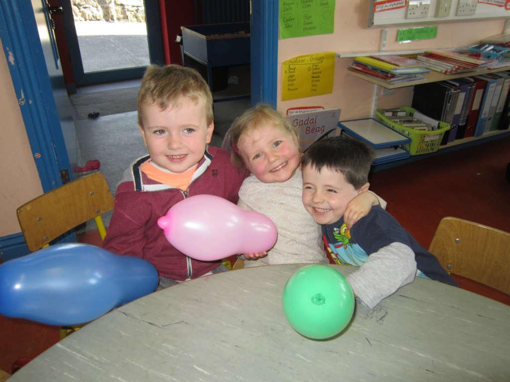 Photo of Junior infants visit Grange N.S.