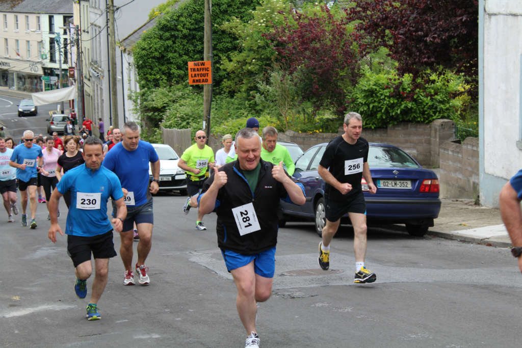 Photo of Curlew Warrior run held in Boyle