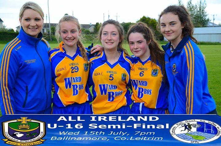 Photo of Boyle girls in All Ireland semi tonight
