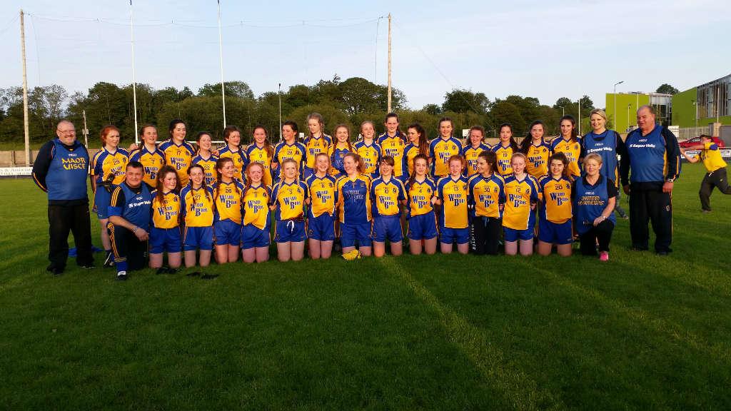Photo of Boyle girls in All Ireland tonight