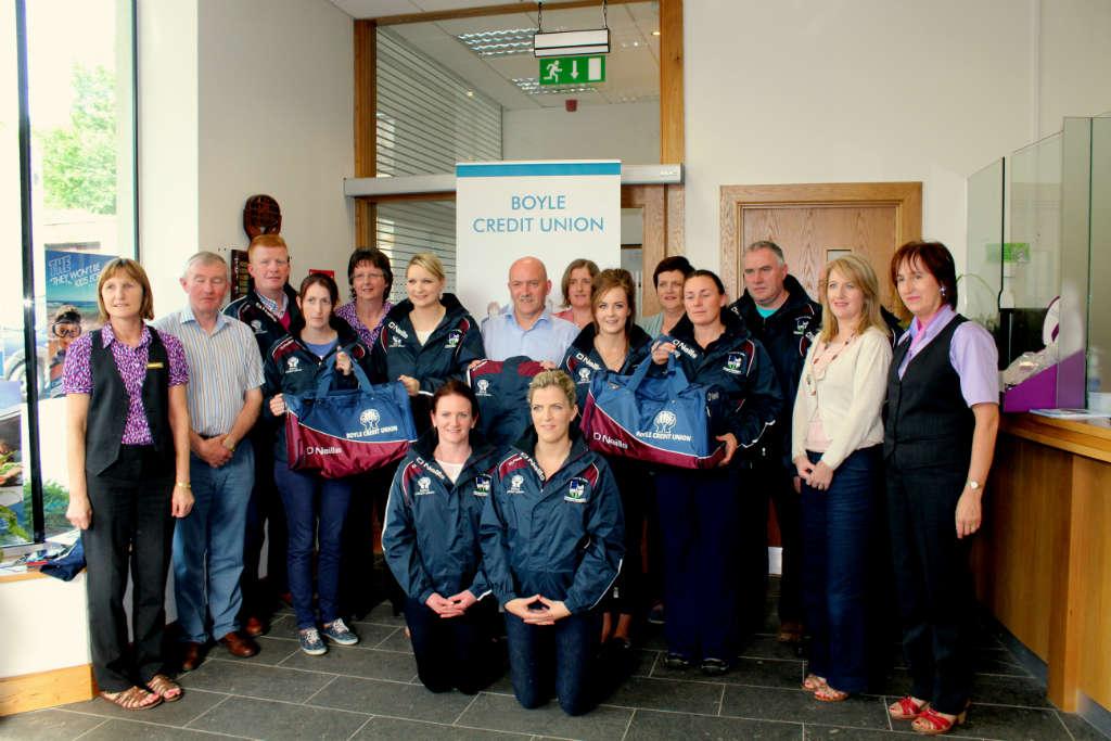 Photo of Credit Union sponsor Boyle Ladies